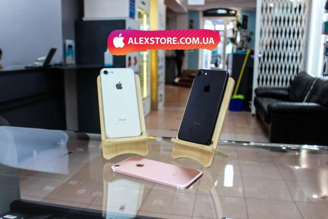 •Чернівці• iPhone 7 32GB/128GB Neverlock• Магазин • ALEXSTORE.COM.UA