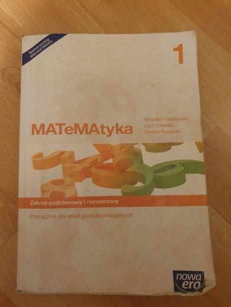 Podręcznik matematyka 1 poziom podstawowy i rozszerzony