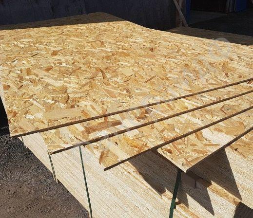 ОСБ 10мм гр 639.Доска обрезная, брус, стропило, рейка деревянна