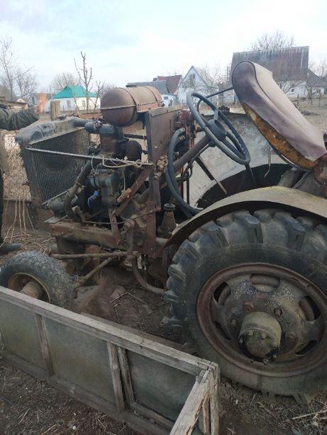 Міні трактор самороб