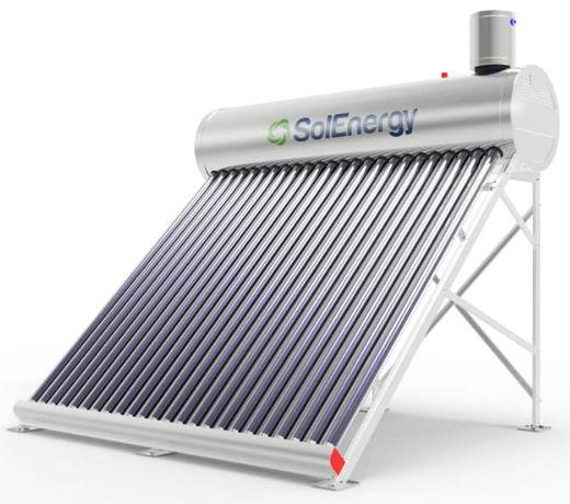 Painel solar tubos de vácuo 240 litros Inox