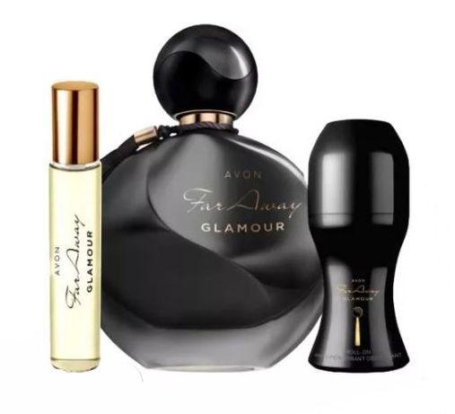 Avon Far Away GLAMOUR szykowny elegancki zestaw