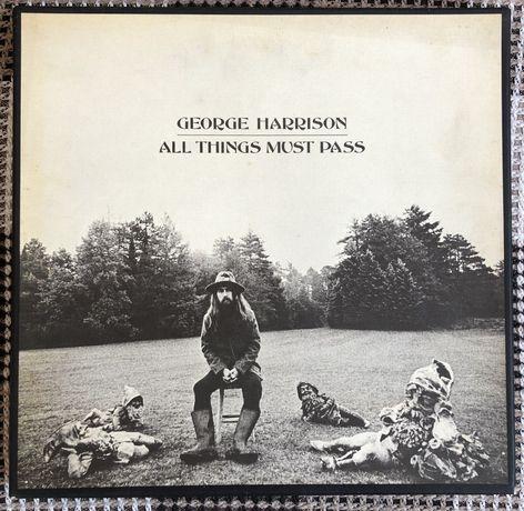 Виниловые пластинки George Harrison all things must pass + ПЛАКАТ