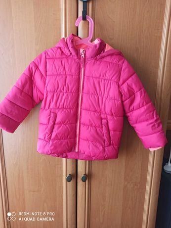 Ciepła kurtka zimowa dla dziewczynki