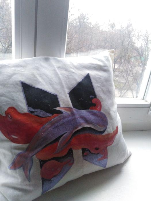 Індивідуальний розпис текстиля наволочок Ровно - изображение 1