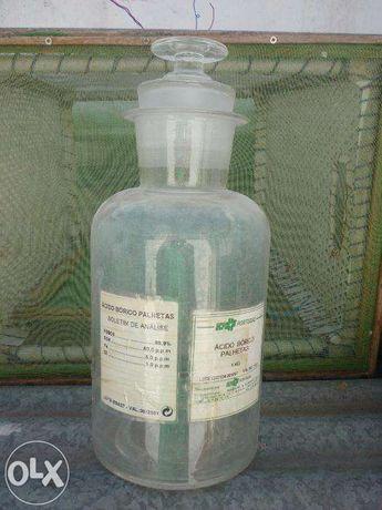 frascos antigos de farmacia