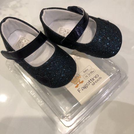 Туфельки - пинетки для малышки