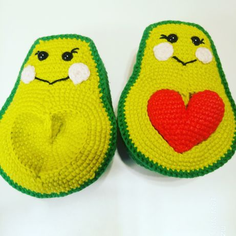игрушка влюбленный авокадо