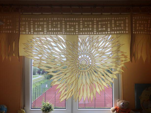 Słoneczna firanka