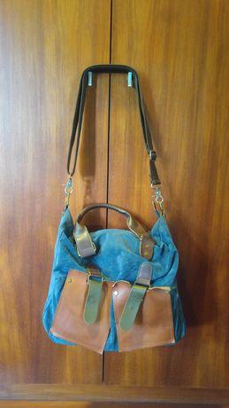 Carteira/ mochila azul