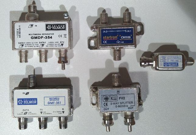 Rozdzielacz Splitter antenowy - Telmor / GMDF 354