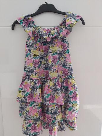 Letnia sukienka coccodrillo roz. 116