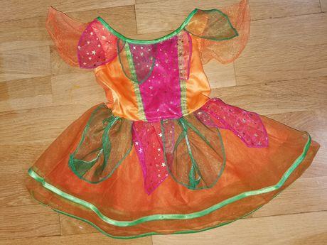 Sukienka wróżki czarodziejki 1-2 lata