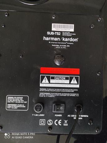 Subwoofer HARMAN KARDON sub-ts2 dla kolekcjonerów