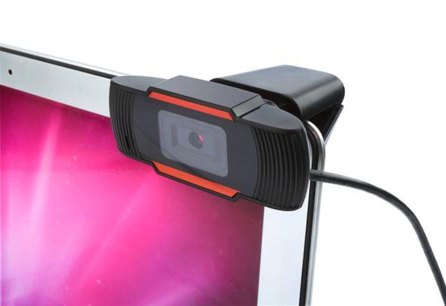 Z POLSKI Kamerka internetowa FullHd 1080p zdalne nauczanie mikrofon PP