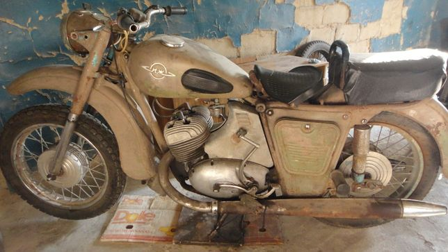 редкий мотоцикл иж юпитер1 (иж 58)