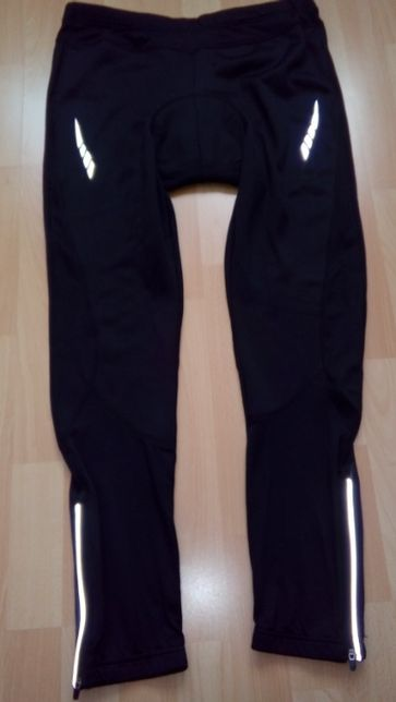 Spodnie leginsy rowerowe męskie Crivit rozmiar L 52/54