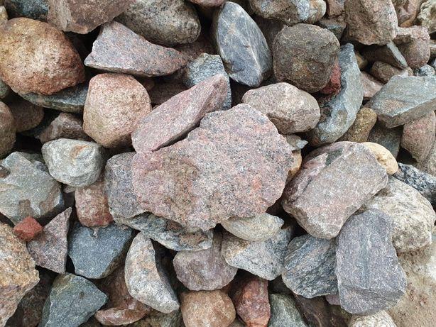 Kamień do gabionów w workach BIG-BAG łamany kruszony