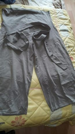 Spodnie ciążowe wiosenno-letnie H&M Mama