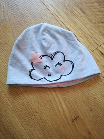 Czapka niemowlęca dziewczęca r.74 marki RESERVED