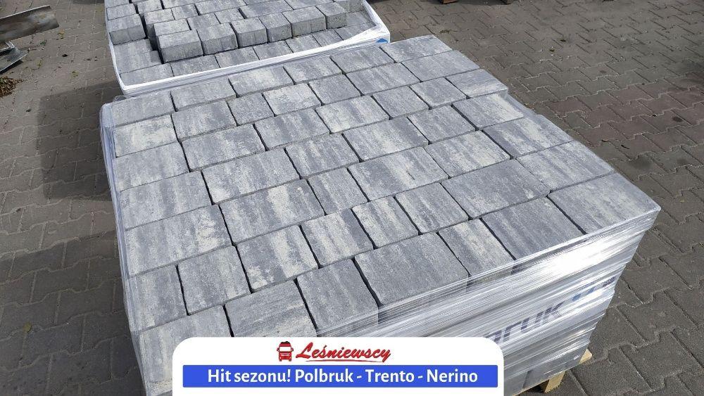 Kostka brukowa-Polbruk Trento Nerino*barwy zimy*na podjazd KURIER HDS!