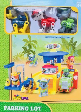 BAZA parking PSI PATROL +3 figurki nowość