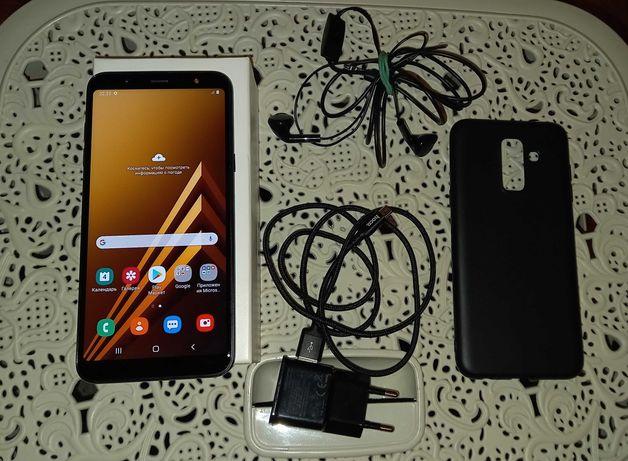 Samsung A6+ duos black Full Metal