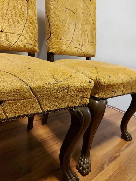 Krzesła lwie łapy