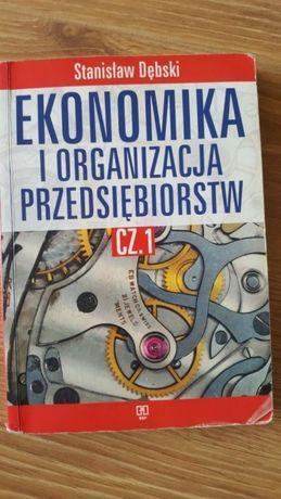 Ekonomika i organizacja przedsiębiorstw cz.1 S.Dębski
