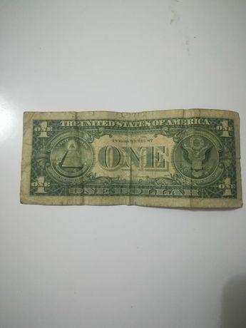 Nota de 1 dólar americano 1977