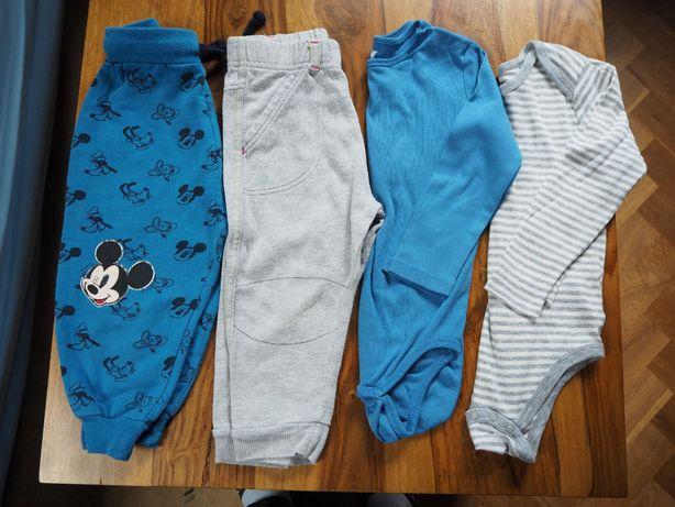Body, spodnie 92 - H&M, Lupilu, Disney