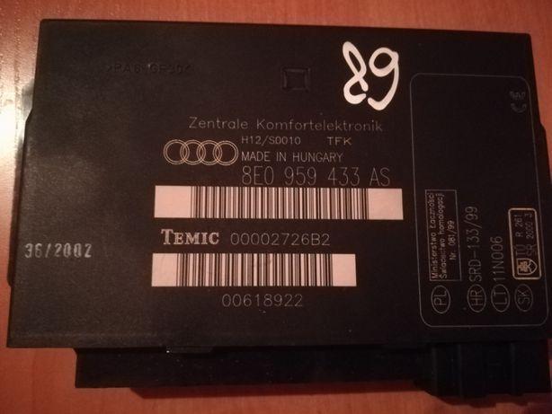 Audi a4 b6 1.9 tdi moduł komfortu nr 433 AS