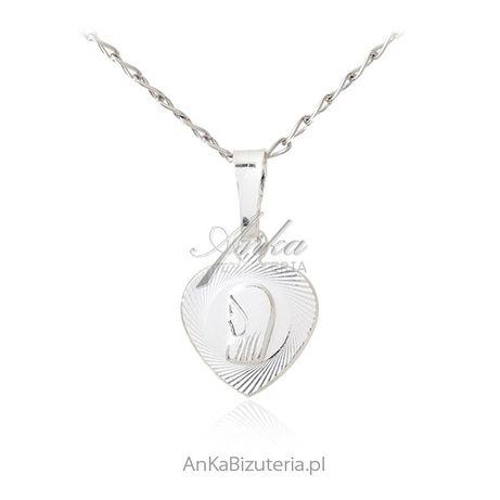 ankabizuteria.pl Biżuteria Srebrna nowosci Naszyjnik srebrny pozłacany