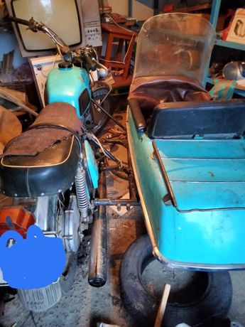 Мотоцикл ИЖ-3 Планета