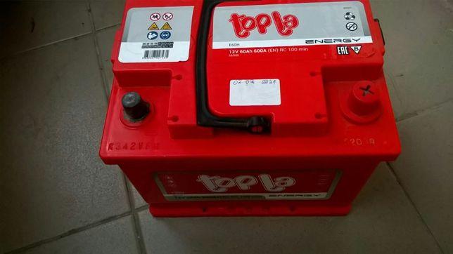Автомобильный аккумулятор Topla 60Ah/12V Energy