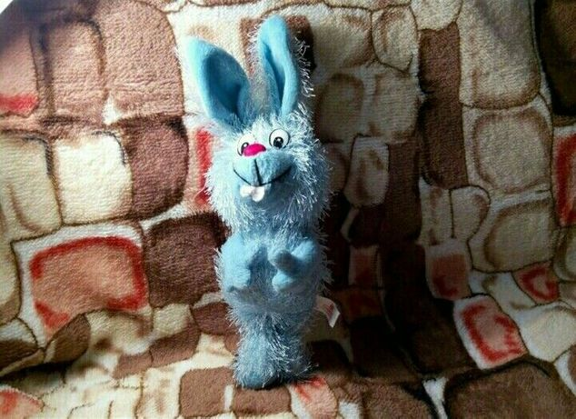 Мягкая игрушка зайчик кролик