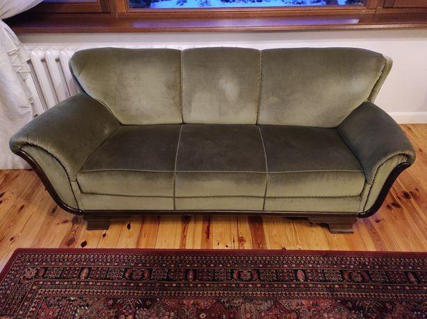 Oryginalna sofa trzyosobowa z lat 30. XX wieku