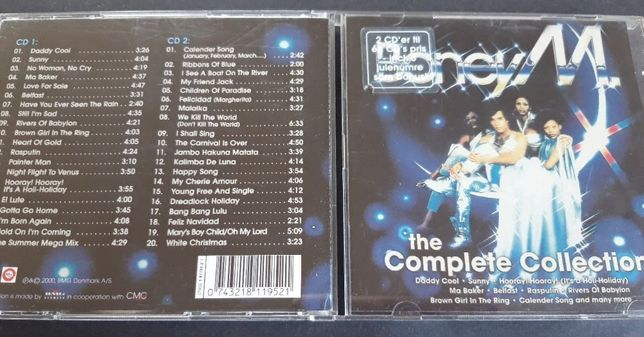 Boney M. ‎– The Complete Collection, 2 CD , 2000 rok , Denmark
