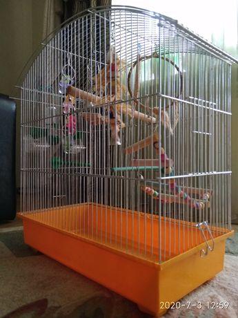 Середня клітка для птахи, 57*27*61 см
