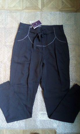 Летние брюки Дания с высокой посадкой S