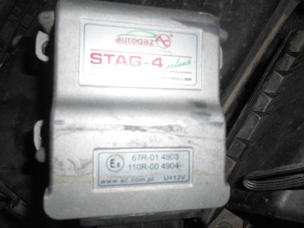 Газовая установка б/у повний комплект. Газ. Stag 4 plus б/у 56 л