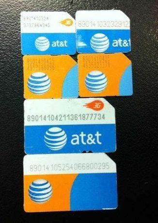 SIM для активации:  ATT AT&T АТТ