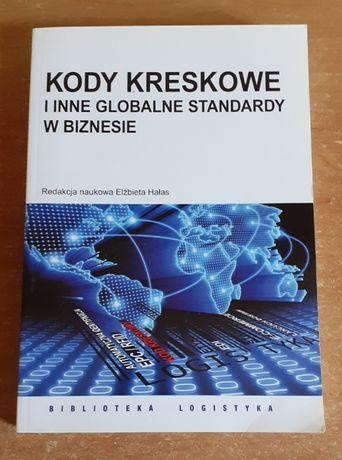 """Podręcznik""""KODY KRESKOWE i inne globalne standardy w biznesie"""" E. Hała"""