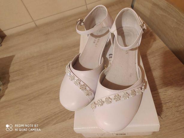 Buty dla dziewczynki komunijne