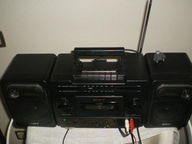 Rádio cassette corder Sony mod.CFS-1030