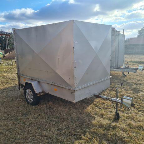 Przyczepka zabudowana samochodowa solidna Gookar EG250 750kg FVAT!