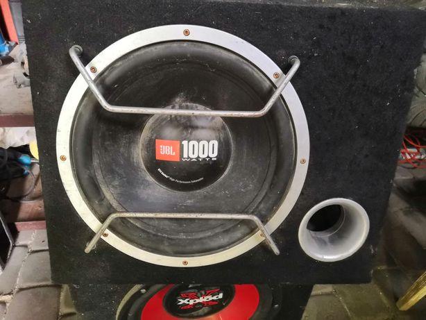 Skrzynia basowa 1000 watt jbl