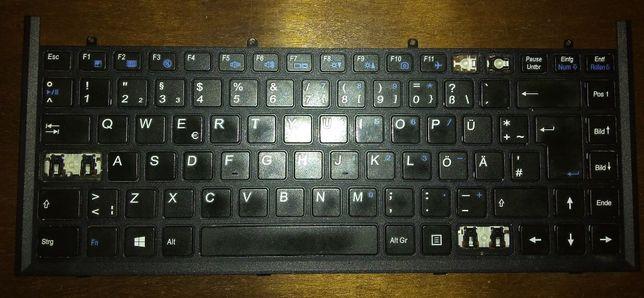 Teclado portátil Clevo W840SU