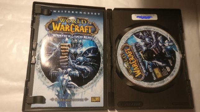 World of Warcraft лицензионный dvd диск с ключом активации