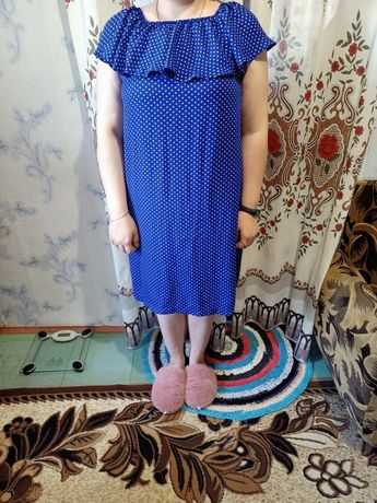 Летнее лёгкое платье